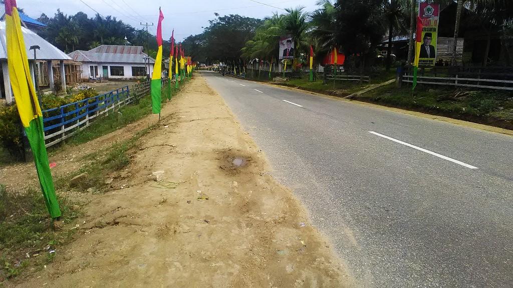 Kondisi Kecamatan Besulutu yang kini terlihat lebih bersih
