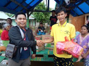 Tim Media Konawe Bantu Pemda Salurkan Bantuan ke Pengungsi Banjir