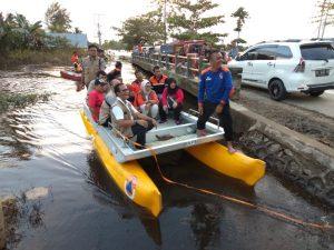Tim BNPB Pusat Tinjau Lokasi Banjir di Kecamatan Pondidaha