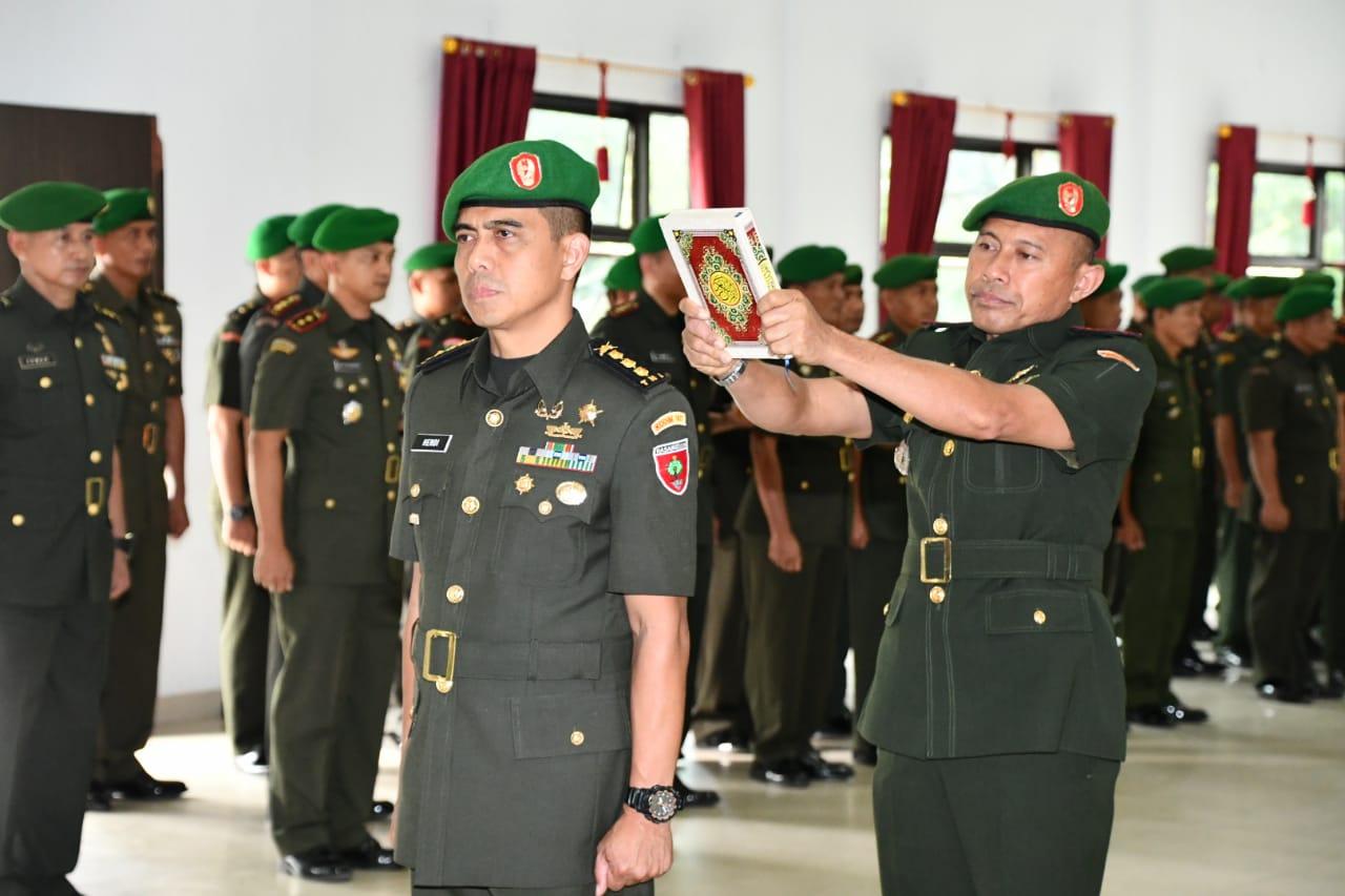 Dandim 1417/Kendari Kolonel Kav Hendi Suhendi, S.Sos