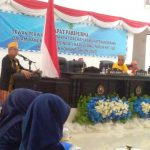Wakil Bupati Konawe Gusli Topan Sabara saat menyampaikan Pidato pada Rapat Paripurna HUT Kabupaten Konawe ke-60 di Gedung ABD Samad DPRD Kabupaten Konawe