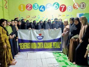 Berkah Ramadhan, GMCK Bagi-bagi Takjil ke Ponpes Darussholah
