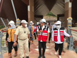 Tiga Helipad Disiapkan Untuk Kedatangan Presiden di Bendungan Ladongi