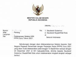 Lokasi Ujian Seleksi Guru ASN PPPK 2021 Kabupaten Konawe