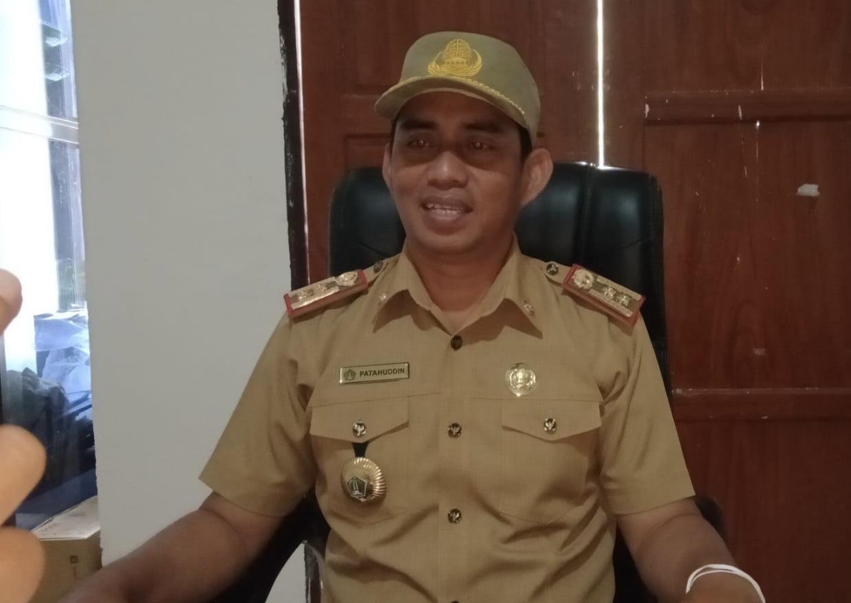 Kepala Dinas Pemberdayaan Masyarakat dan Desa (DPMD) Kolut Patahuddin