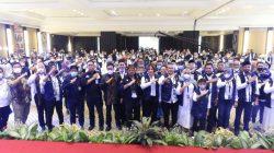 Menteri Pertanian (Mentan), Syahrul Yasin Limpo, Mengukuhkan 10.000 kader (KKT-PTI), di Hotel Bumi Surabaya, Jalan Jenderal Basuki No. 106-128, Surabaya, Jumat (8/10/2021)